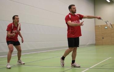 Markus und Daniel gewannen das 2. Herrendoppel.