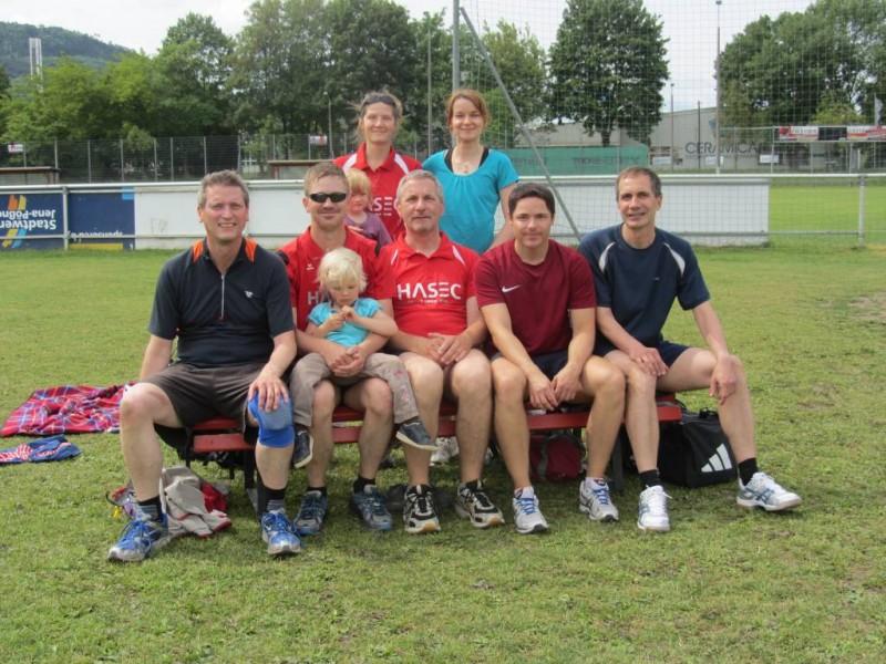 Unsere Volleyballmannschaft beim Turnier des SV Jena-Zwätzen.
